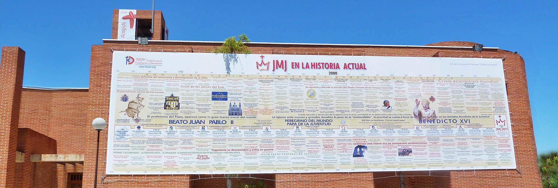 Casa de Ejercicios Cristo Rey. JMJ Madrid 2011.