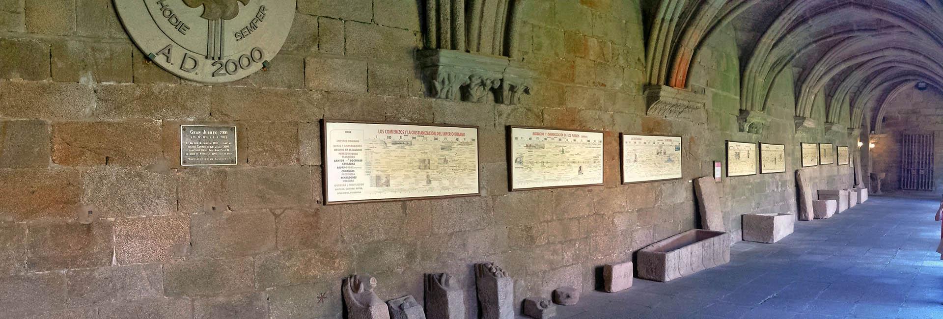 Claustro de la catedral de Tuy.